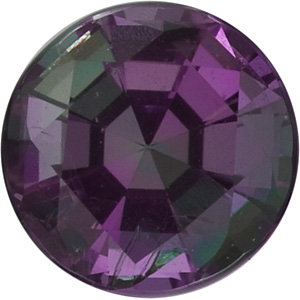 Genuine Round Alexandrite in Grade GEM