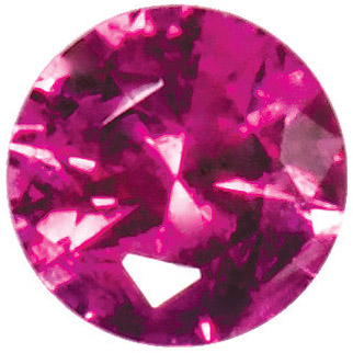 Loose  Swarovski Bright Red Ruby Gemstone in Round Cut, 1.40 mm in Size, 0.02 carats