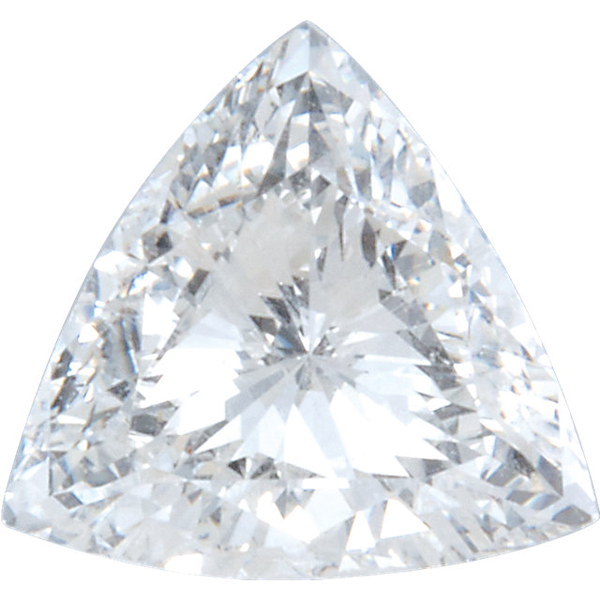 Best Quality Trillion Shape Diamond Melee, GH Color SI1 Clarity, 6.00 mm in Size, 0.5 carats