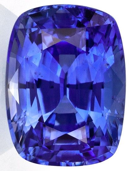 Authentic Blue Sapphire Gemstone, Cushion Cut, 7.09 carats, 12.08 x 9.04 x 7.23 mm , GIA Certified - A Great Buy