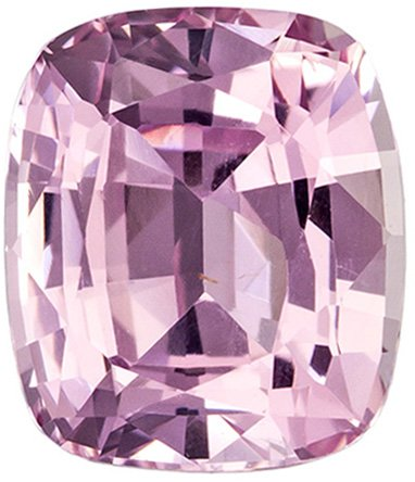 GIA Certified 2.23 Carat Unheated Peach Pink Cushion Cut Sapphire Gemstone in Cushion Cut, Pinky Peach Color in 7.8 x 6.7 mm