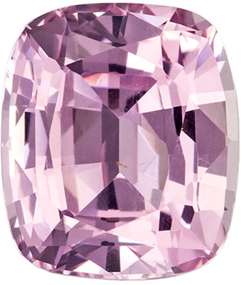 GIA Certified No Heat 2.23 carats Peach Sapphire Loose Gemstone in Cushion Cut, Pinky Peach, 7.8 x 6.7 mm