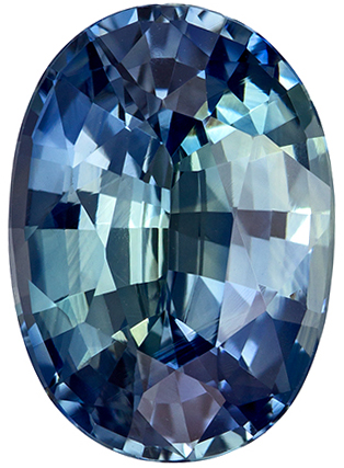 Fiery Stunning GIA Certified 4.52 carats Sapphire Loose Gemstone in Oval Cut, Teal Blue Green, 11.6 x 8.3 mm