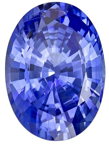 Real Blue Sapphire Gemstone, Oval Cut, 7.22 carats, 13.92 x 10.1 x 6.67 mm , GIA Certified - A Great Deal