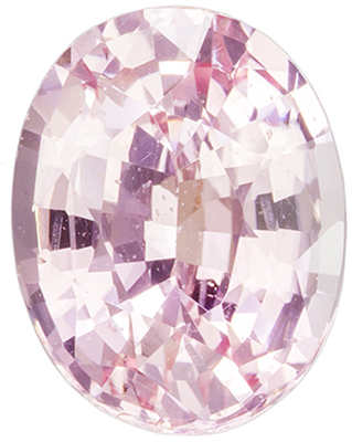 GIA Certified No Treatment 2.02 carats Peach Sapphire Loose Gemstone in Oval Cut, Pinky Peach, 8.7 x 6.7 mm