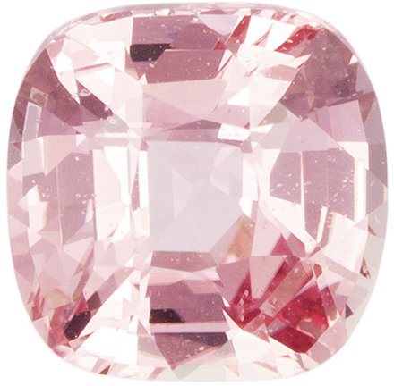 GIA Certified Padparadscha Sapphire Gem in Cushion Cut, Orange Peach Pink, 6.16mm, 1.28 carats - With GIA Certificate - SOLD
