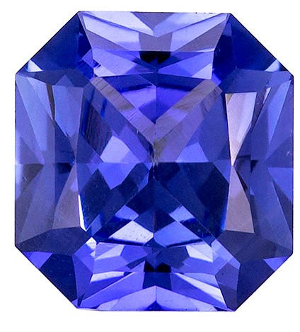 GIA Certified Unheated 65 x 5.6 mm Blue Sapphire Genuine Gemstone in Radiant Cut, Rich Cornflower Blue, 0.91 carats