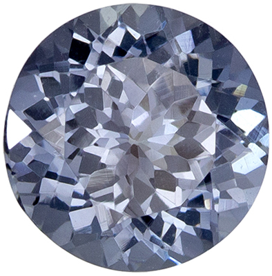 Glamorous Gem  Gray Spinel Round Cut, 1.64 carats, 7 mm