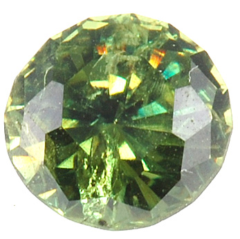 Gleaming Round Demantoid Garnet for SALE - Fiery Medium Green, Round Cut, 0.95 carats - SOLD