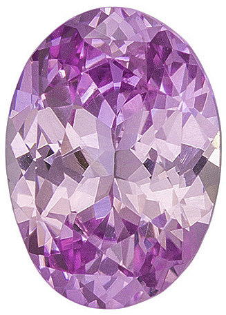 Good Looking Pink Sapphire Genuine Ceylon Gemstone - Sure to Dazzle, Great Find! Oval Cut, 7.9 x 5.6 mm, 1.29 carats