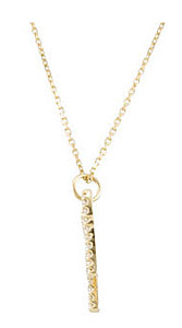 Gorgeous Angel Outline .33ct  Diamond Pendant for SALE - Choose 14k White or Yellow Gold - FREE Chain Included