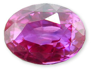 Gorgeous Color - Intense Pink-Fuschia Colored Sapphire Gemstone 2.41 carats