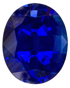 Gorgeous Deep Blue Evenly Colored Sapphire - Well Cut, Oval Cut, 2.87 carats