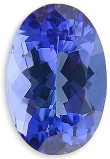 Gorgeous Oval Cut Natural Tanzanite Gemstone 2.91 carats