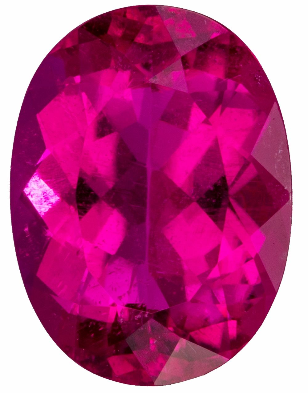 Gorgeous Rubellite Tourmaline 4.27 carats, Oval shape gemstone, 12.6 x 9.3  mm