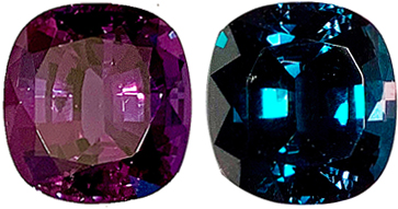 Heirloom 5.11 carat Brazilian Alexandrite Gem,  100% Blue Green to Reddish Purple Color Change