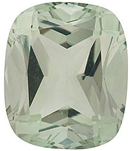 Grade AAA - Antique Cushion Genuine Green Quartz 12.00 x 10.00 mm to 14.00 x 12.00 mm