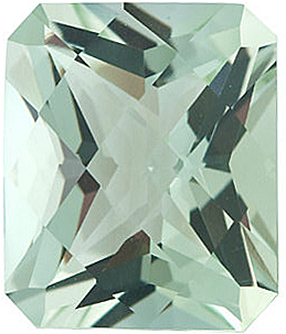 Grade AAA - Checkerboard Emerald Genuine Green Quartz 12.00 x 10.00 mm to 14.00 x 10.00 mm