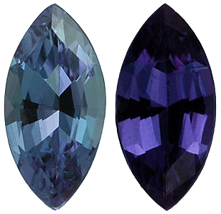 Grade AAA - Marquise Genuine Alexandrite 4.00 x 2.00 mm to 6.00 x 3.00 mm