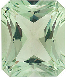 Grade AAA - Radiant Emerald Genuine Green Quartz 12.00 x 10.00 mm to 14.00 x 12.00 mm
