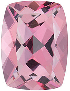 Grade AAA - Swarovski Gems Antique Cushion Genuine Baby Pink Passion Topaz 8.00 x 6.00 mm to 10.00 x 8.00 mm