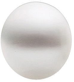 Grade Fashion - Oval Undrilled Genuine White Paspaley South Sea Pearl 10.00 mm to 15.00 mm