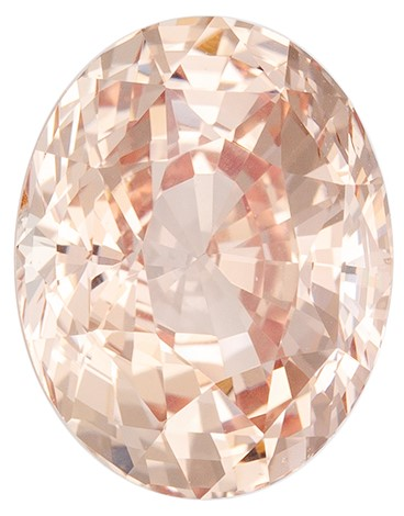 Great Buy on This Stone  Peach Sapphire Genuine Gemstone, 3.01 carats, Oval Shape, 9.2 x 7.2 x 5.49 mm  with  GIA Certificate