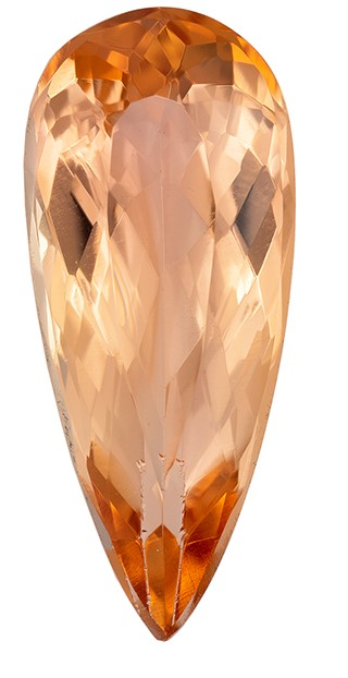 Great Buy on This Stone  Pear Cut Genuine Precious Topaz Gemstone, 3.09 carats, 15 x 6.4 mm , Perfect Ring Stone