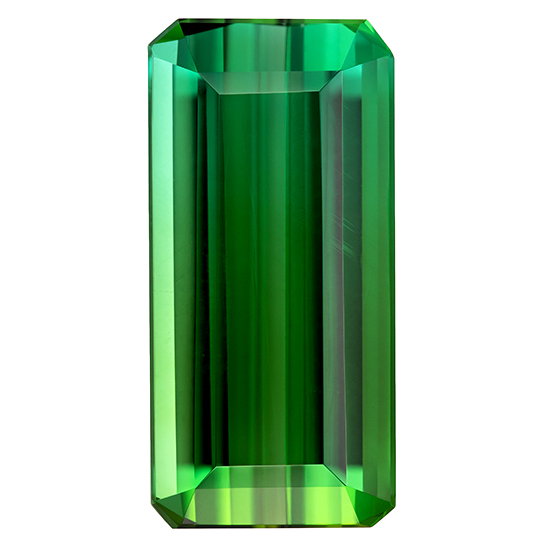 Truly Stunning  Blue Green Tourmaline Genuine Gemstone, 6.02 carats, Emerald Shape, 15.6 x 7.5 mm