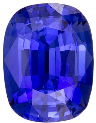 Great Deal on  Blue Sapphire Gemstone, 1.1 carats, Cushion Shape, 6.8 x 5.1 mm, A Natural Wonder