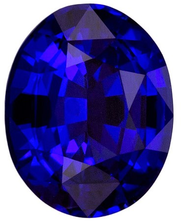Great Deal on  Blue Sapphire Gemstone, 1.57 carats, Oval Shape, 7.7 x 6.1 mm, Truly Stunning
