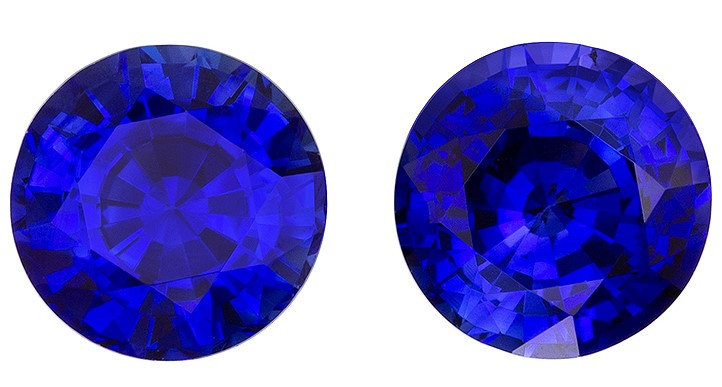 Great Deal on  Blue Sapphire Gemstone, 1.91 carats, Round Shape, 5.5 mm, Low Price