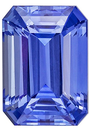 Great Deal on GIA Blue Sapphire Gemstone, 7.14 carats, Emerald Shape, 12.26 x 8.72 x 6.67 mm, Truly Stunning