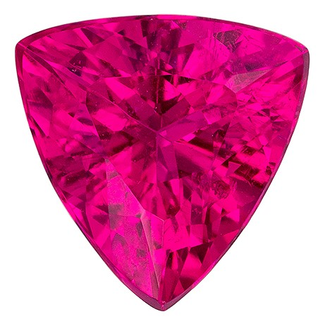 Great Deal on  Rubellite Tourmaline Gemstone, 2.12 carats, Trillion Shape, 9 mm, A Wonderful Find