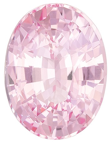 Great Deal  Oval Cut Faceted Pink Sapphire Gemstone, 2.25 carats, 8.98 x 6.74 x 4.57 mm with GIA Certificate, Huge Presence