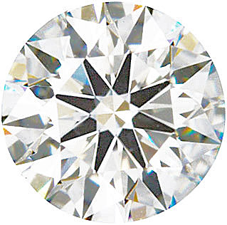 Shop Canadian Diamond Melee, Round Hearts & Arrows Cut, E Color VS Clarity, 3.70 mm in Size, 0.2 Carats
