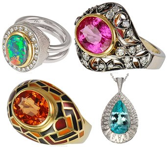 Buy Gemstone Jewelry At Africagems Gold Jewelry With