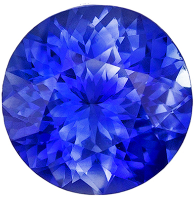 Highly Requested Blue Sapphire Genuine Gemstone, Round Cut, Vivid Rich Blue, 5.3 mm, 0.66 carats