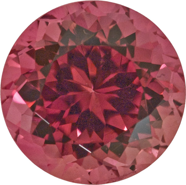 Huge Beautiful Fancy Tourmaline Loose Gem, Nice Orangey Pink Color in 12.8 x 12.8 mm, 8.73 carats