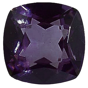 Imitation Amethyst Antique Square Cut Stones
