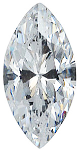 Imitation Diamond Marquise Cut