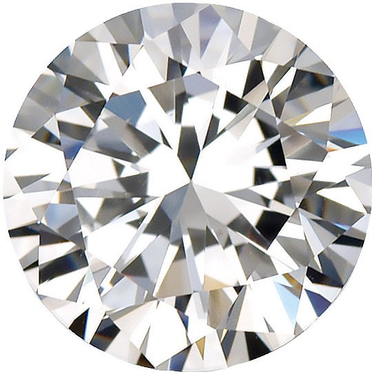 Imitation Diamond Round Cut