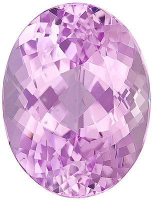 Impressive Lively Loose Pink Kunzite Gemstone for SALE! Oval cut, 22.15 carats