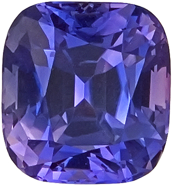 Incredible Bluish-Violet Sapphire Natural Gem Stone for SALE, AGTA Cert, Antique Cushion Cut, 4.84 carats