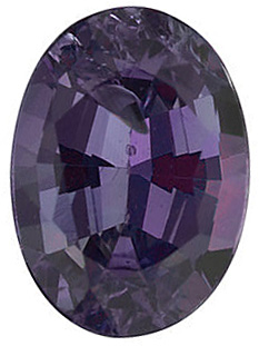 Loose Alexandrite Stone, Oval Shape, Grade A, 5.00 x 3.50 mm in Size, 0.32 Carats