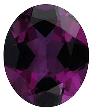 Loose Imitation Alexandrite Stone, Oval Shape, 12.00 x 10.00 mm in Size