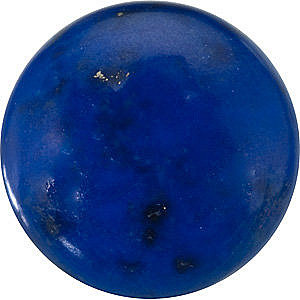 Loose Lapis Gem, Round Shape, Grade AA, 4.00 mm in Size