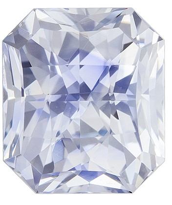 Loose Natural  Blue Sapphire Gemstone, 1.77 carats, Radiant Shape, 6.7 x 5.9 mm, A Beauty of A Gem