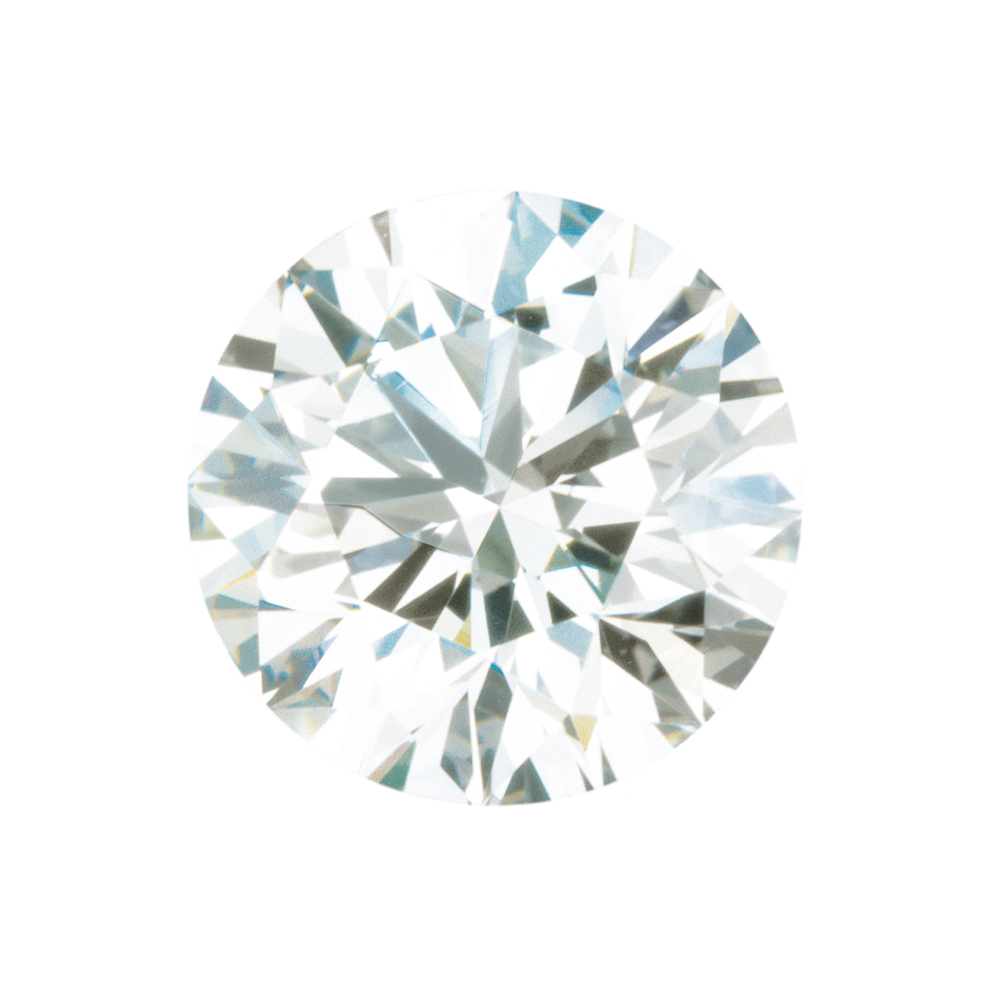 Faceted Standard Size Loose Round Shape Precision Cut Diamond Melee F Color -SI1 Clarity, 1.45 mm, in Size, 1.45 mm Carats