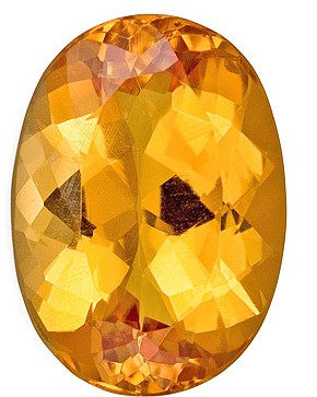 Loose Precious Topaz Gemstone, Oval Cut, 6.64 carats, 13.5 x 9.8 mm , AfricaGems Certified - A Hard to Find Gem